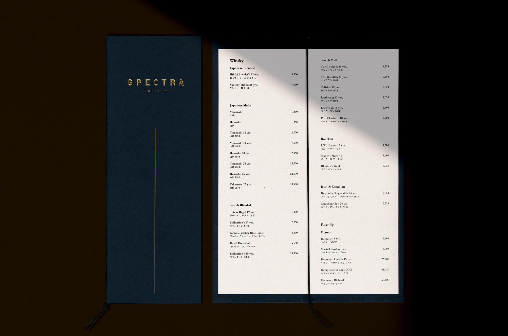 Halekulani OKINAWA,  F&B Tool Design
